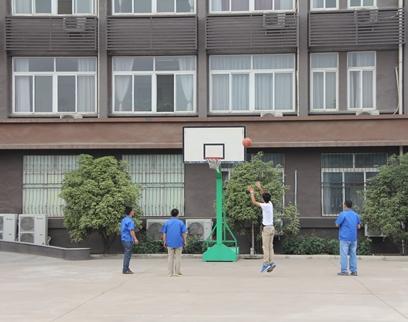 员工篮球活动