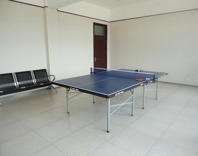 乒乓球室室内