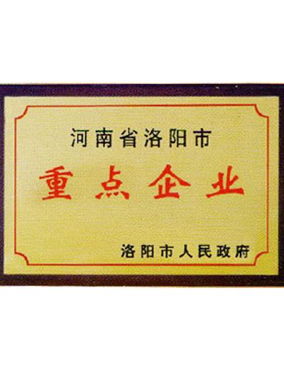 河南洛阳市重点企业